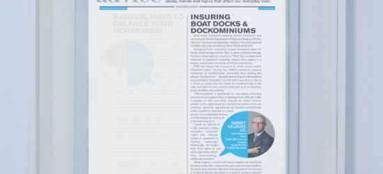 Insuring Boat Docks & Dockominiums