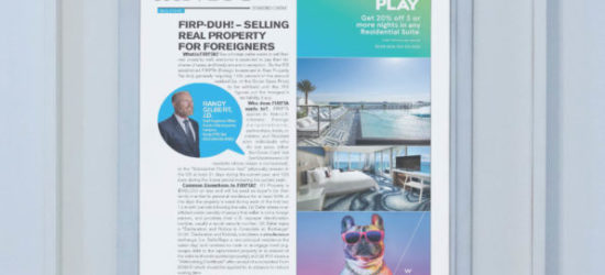 FIRP-DUH! – Selling Real Property for Foreigners