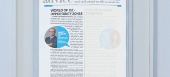 World of OZ – Opportunity Zones